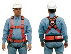 10029145 msa rose fall protection and fall arrest full body harness fall protection harness at gsmx.co